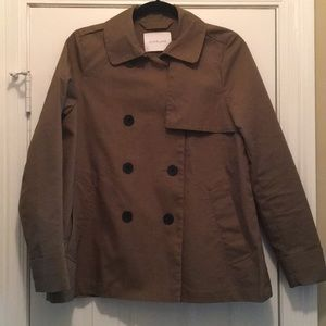 Everlane Swing Trench in Olive - Sz M